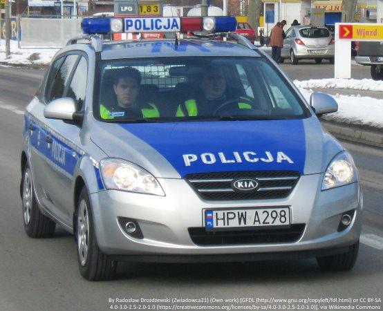 Policja Lubliniec: Poszukujemy sprawców uszkodzenia mienia