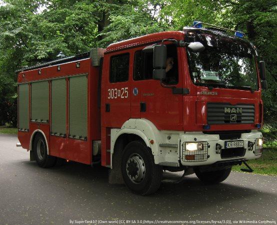KPPSP Lubliniec: Pożar w domku letniskowym w Kokotku